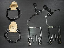 Tektro BRAKE LEVERS + V BRAKES + CABLES   (NEW!) BMX Mountain Bike Cycle Bicycle
