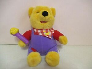 """Winne The Pooh-Wigglin' For Honey Pooh-11""""-Plush-1999-Works"""
