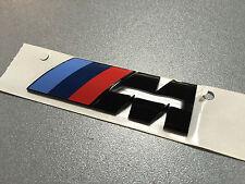 Neues Original BMW M Emblem Schriftzug Heckklappe schwarz selten