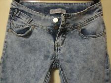 L5) WOMENS BLUE J-WELLY SKINNY STRAIGHT JEANS SIZE 6 LEG 28 UK HAND MEASUREMENTS