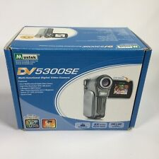 MUSTEK DV5300SE 6-In-1 Multifunctional Camera (Silver)~~New Batteries~~