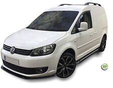 VW CADDY 2-DOOR 2004-2016 SET OF FRONT  WIND DEFLECTORS  2pc HEKO TINTED