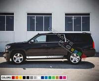 Sticker Decal Vinyl for Chevrolet Suburban Side Stripe Kit Sport 2015 2019 2020