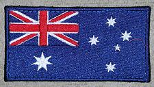 FLAG PATCH AUSTRALIAN NATIONAL FLAG -  BACKED LARGE