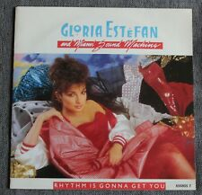 Gloria Estefan, rhythm is gonna get you / give it up, SP - 45 tours