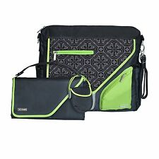 JJ Cole Metra Diaper Bag, Midnight Clover