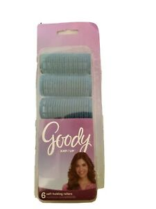Goody AMPITUP Self-Holding Rollers 6 Count,  Blue
