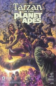 TARZAN PLANET OF THE APES 11x17 SDCC Comic-Con 2018 POSTER + Dark Horse BONUS