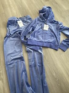 juicy couture tracksuit X-small Blue/lilac New