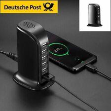 6 fach Multi USB Port 30W 6A Lade Adapter Netzteil Schnellladegerät Ladestation