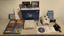 Sega Dreamcast OVP CIB + 2 Controller + 1 Memory Card + Vibration Pak + 9 Spiele