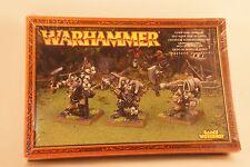 OOP Chaos Warriors - CHAOS OGRE COMMAND - 2003 Warhammer Metal BNIB
