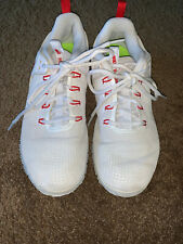 Womens Nike Air Zoom Hyperspace Red/White Volleyball Shoes, Sz 10 M