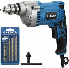 Glaxia Professional 6A 3/8-Inch Corded Drill, Variable Speed 0-3200Rpm,