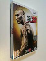 WWE 12 WII - LINGUA ITALIANA COMPLETO - GIOCO WRESTLING