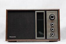 VTG Mid Century Panasonic RE-6516 AM FM Wood Case Radio - Working