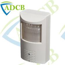 420TVL PIR SENSOR HIDDEN CCTV CAMERA BLACK INFRARED SPY/COVERT SECURITY SECURE