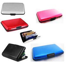 RFID Blocking Aluminum Credit Card Holder Safe Wallet Hard Case Anti Scan Theft