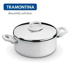 TRAMONTINA Aluminum Non Stick Casserole Pan with Lid 24cm Montreal 20720824