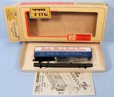 Train-Miniature HO Rath's Black Hawk Ham 40' Double-Sheathed Reefer Kit