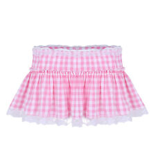 """12/"""" Cerise Pink Cyber Tutu With Black Band Neon Rave Skirt Wear It Pink"""