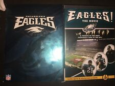 E A G L E S The Movie & The Complete History of The Philadelphia Eagles DVDs