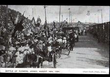 JERSEY (JERSEY) Défilé de FETE des FLEURS / INVITATION en 1907