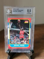 1996 FLEER - MICHAEL JORDAN #4 DECADE OF EXCELLENCE - BGS 8.5 Graded NM/MT+ 🔥