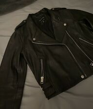 Lucky brand Pebble Leather Moto Jacket