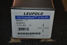 Leupold VX-Freedom 3-9x40mm Matte Rifle Scope Duplex Reticle 174180