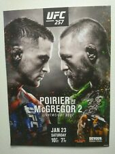 UFC 257 Poitier VS. McGregor 24 X36 Promo Poster