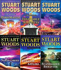 Stuart Woods STONE BARRINGTON Series Collection Set of  Paperback Books 31-36!