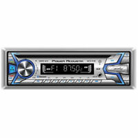 POWER ACOUSTIK Single DIN Bluetooth In-Dash CD/AM/FM Marine Stereo   MCD-51B