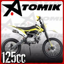 NEW ATOMIK AVENGER 125CC PIT DIRT BIKE MOTOR TRAIL BIKE MX TERRAIN MOTORCROSS AG
