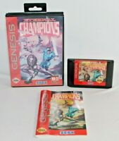 Eternal Champions Sega Genesis Complete CIB Authentic Tested Very Good Condition