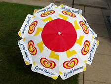 Good Humor Ice Cream Umbrella for Vending Push Carts or Patio, 6 ft - NEW IN BOX