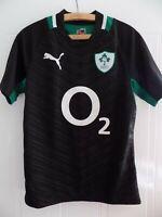 Ireland Rugby Union Shirt Retro Jersey Adults Top Mens Puma IRFU Away 2012 2013