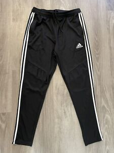Adidas Climacool Tapered Joggers Track Pants Men's Size Large Soccer Black