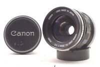 @ Ship in 24 Hours! @ Rare! @ Canon FL 35mm f2.5 Wide-Angle Manual Focus Lens