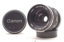 @ Ship in 24 Hours! @ Rare! @ Canon FL 35mm f2.5 Wide-Angle MF Lens from Japan