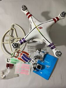 DJI Phantom STA Drone Destroyed - For Parts Or Repair