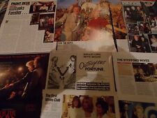BETTE MIDLER CELEBRITY  CLIPPINGS PACK  GOOD CONDITION