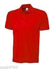 Mens Polo Shirt 100% Cotton Pique Size XS to 4XL Plus NEW UK STOCK