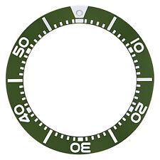 BEZEL INSERT FOR SEIKO WATCH PROSPEX DIVER 200M WATCH SKA371 KINETIC GREEN
