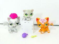 Littlest Pet Shop Lps Cat Swirl Angora 511 Diamond Eyes 954 Cat Agora Longhair