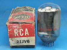 RCA 21JV6 VACUUM TUBE NOS NIB VHF Valvola Lampe  Röhre Valve Valvula SINGLE