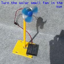 DIY Solar Generator Fan Assembly DC Motor Science Education Model Toy Kit