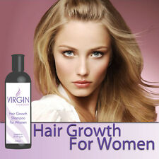 VIRGIN FOR WOMEN HAIRLOSS SHAMPOO LADY'S HAIR GROWTH STOPS THINNING HAIR