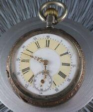 antike Taschenuhr 52382 in 800 Silber