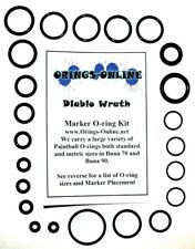 Diablo Wrath Paintball Marker O-ring Oring Kit x 4 rebuilds / kits